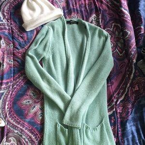 Blue/Teal cardigan 🌸